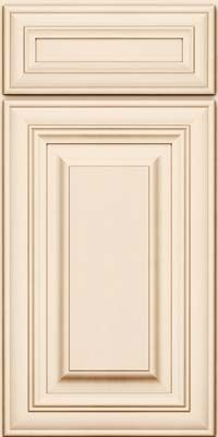 cocoa glaze cabinets | Maple Cabinet in Canvas with Cocoa ...