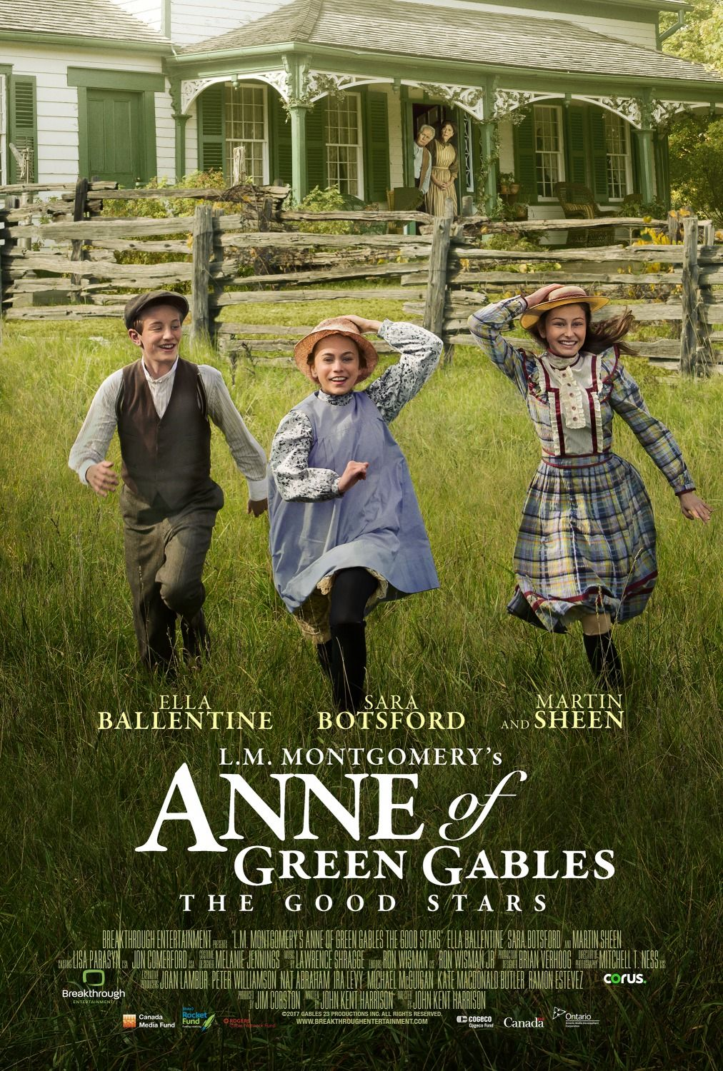 L M Montgomery S Anne Of Green Gables The Good Stars 2016