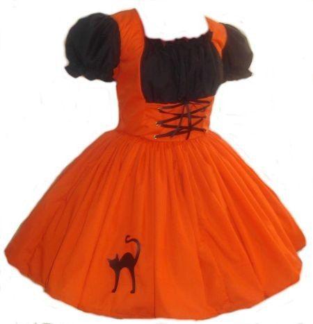 A black dress for halloween