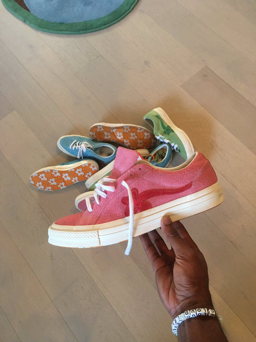 4eeae9542768 Tyler The Creator Says More Converse And Golf Le Fleur Sneakers Are ...