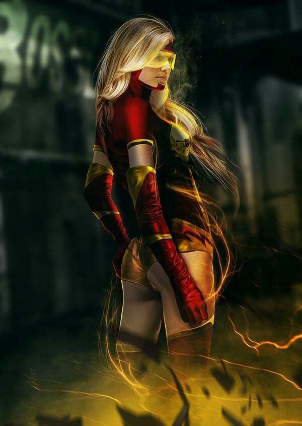 Young Justice Damnation: Jesse Quick by Darth-Chaltab on