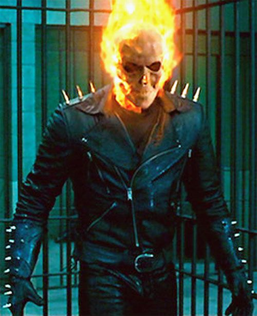 Ghost Rider Movie Nicolas Cage Johnny Blaze Profile Ghost
