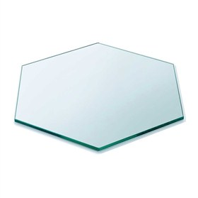Buy Glass Table Top Dining Office Furniture Glass India In 2020 Glass Top Table Table Top Hexagon