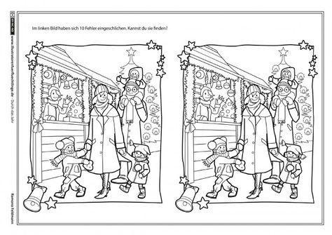 weihnachten fehlerbild (mit bildern) | kindergarten