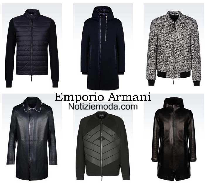 wholesale dealer 3a889 38566 Giubbotti Emporio Armani autunno inverno 2016 2017 uomo ...