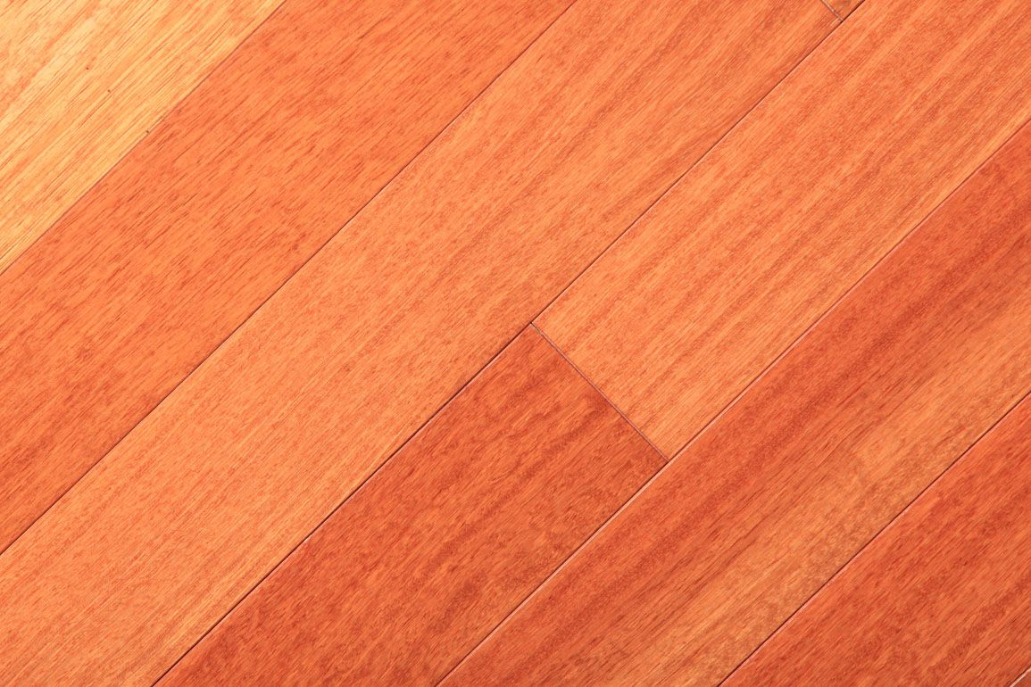 Brazilian cherry hardwood flooring kitchen and tile for Brazilian cherry flooring