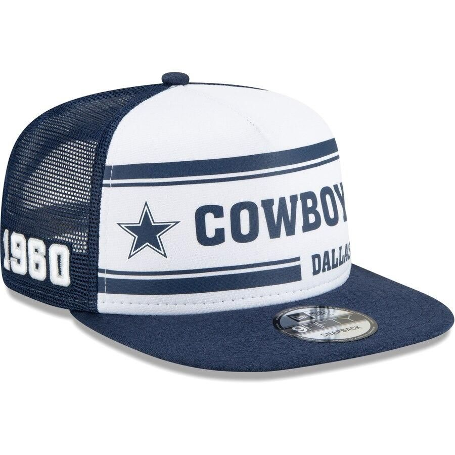 New Era Sideline Road 2019 Bommel Mütze Dallas Cowboys