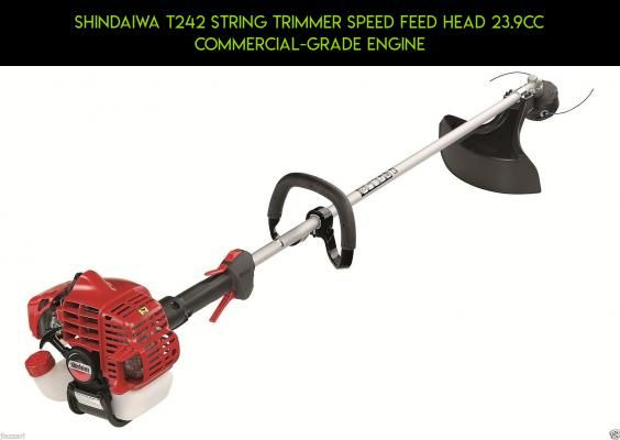 Shindaiwa T242 String Trimmer Speed Feed Head 23.9cc Commercial-grade Engine #plans #trimmers #products #camera #parts #fpv #tech #shopping #technology #drone #gadgets #t #kit #racing