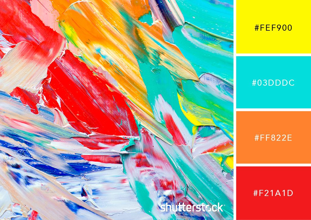 25 Eye Catching Neon Color Palettes To Wow Your Viewers Neon Colour Palette Color Palette Bright Pop Art Colors