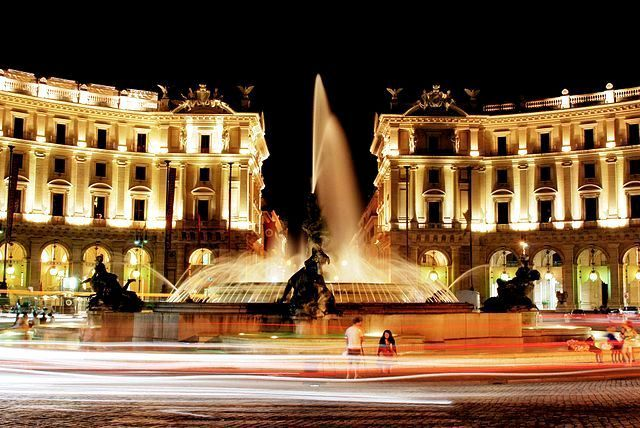 Piazza della Republica - photo by Pasgabriele  #rome #italy #romanholiday
