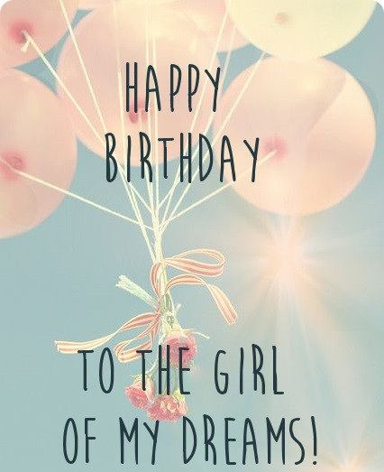 Birthday Wishes For Girlfriend Cards Images