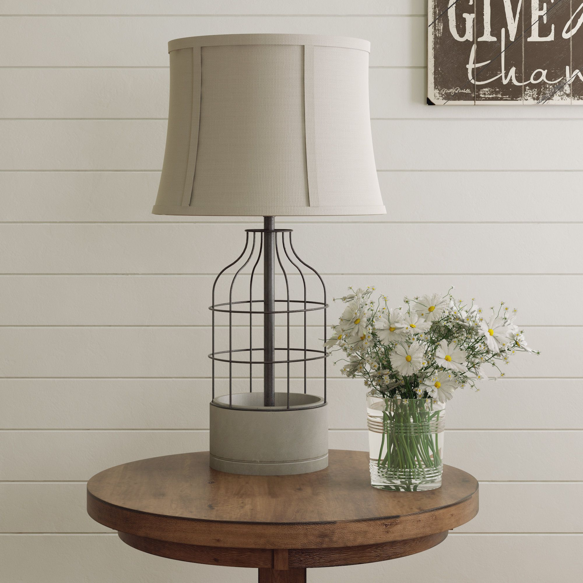 "Blakely 27"" Table Lamp Table lamp, Lamp, Black table lamps"