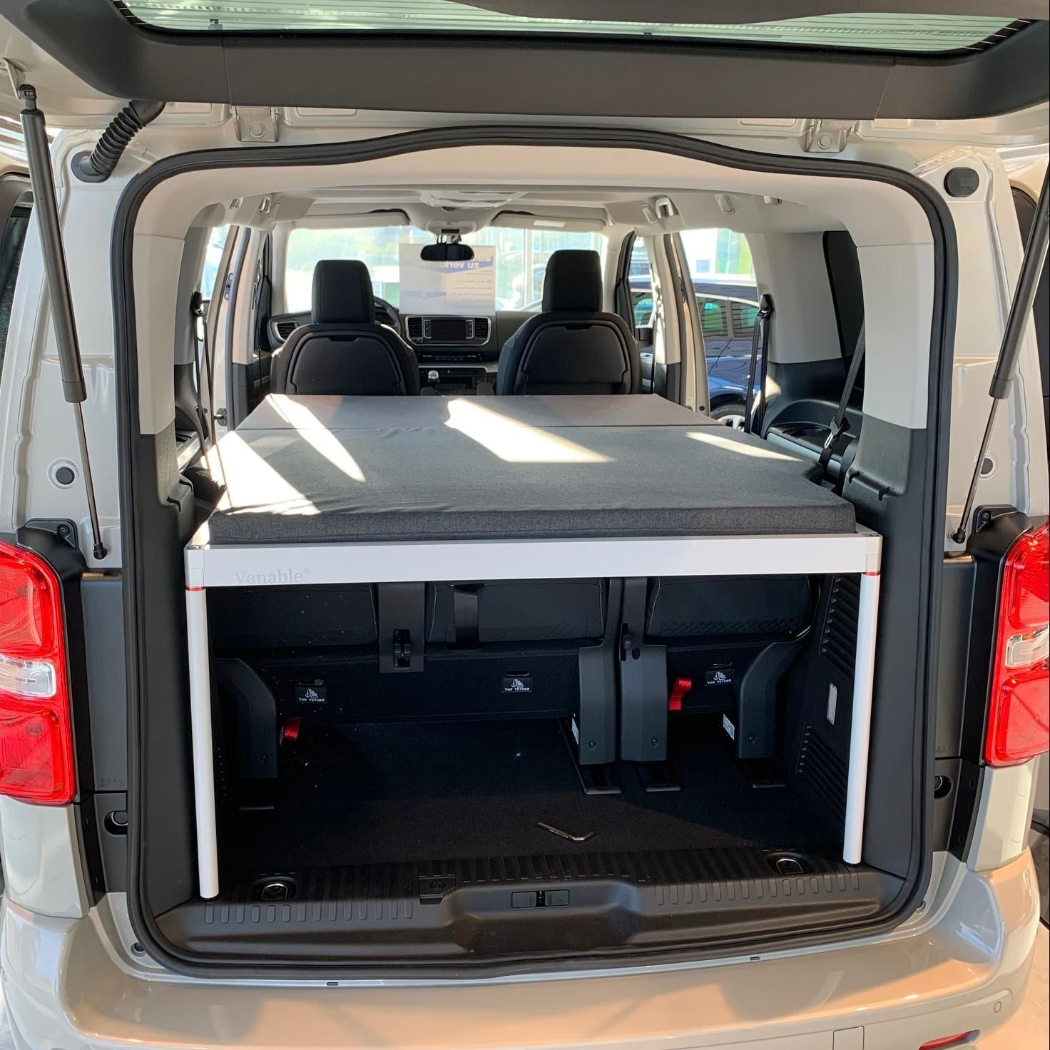 Opel Zafira Life M L2 Vanable Macht Jeden Van Zum Wohnmobil In 2020 Minivan Camping Wohnmobil Kleintransporter