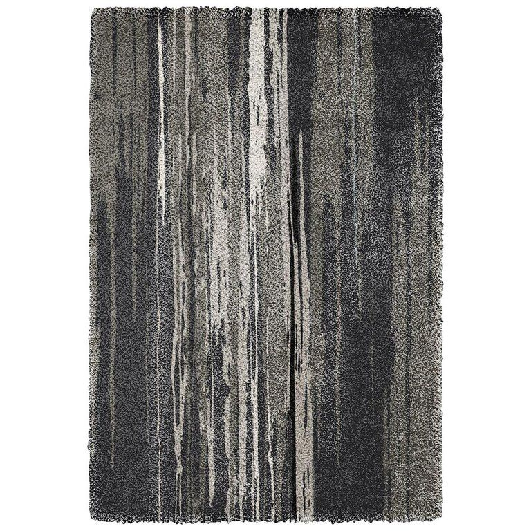 Best Inuk Hand Tufted Tencel Rug In Brown And Black Gradient In 400 x 300