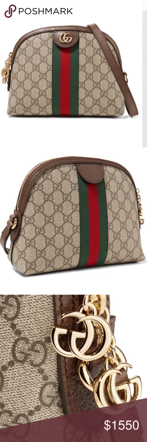 eec074d3edc5 Gucci Ophidia leather-canvas shoulder bag Brand New with tags and dust bag  No box. There are a handful of signatures that make a piece distinctly Gucci