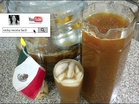 TEPACHE | Vicky Receta Facil - YouTube