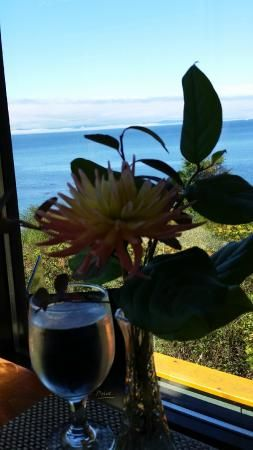 Corner table, Point no Point  |  10829 West Coast Road , Sooke, British Columbia V0S 1N0, Canada