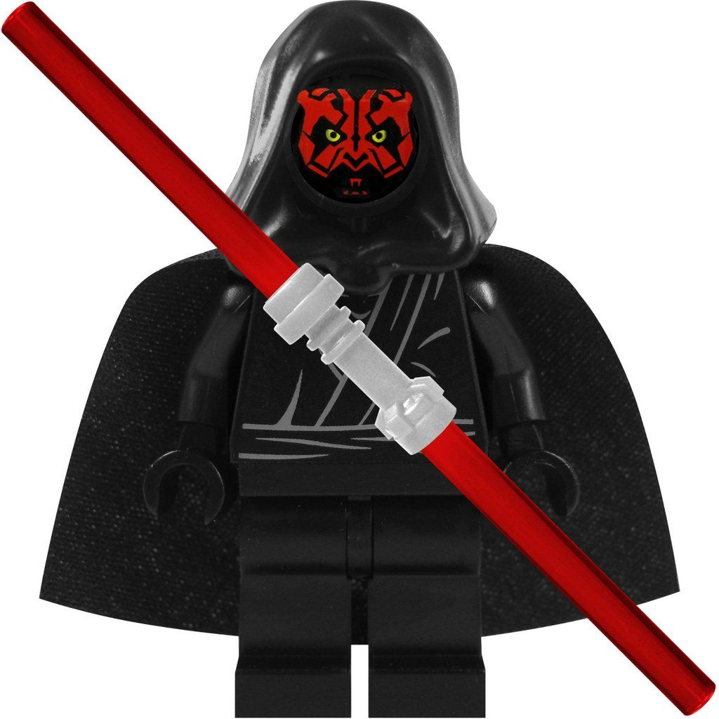 lego star wars custom figur sith darth maul mit umhang und. Black Bedroom Furniture Sets. Home Design Ideas