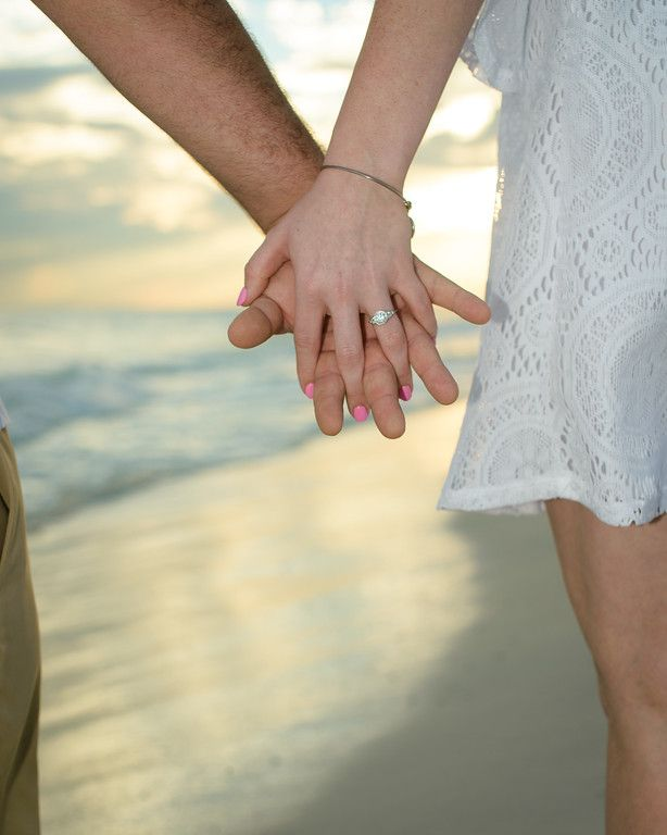 Gorgeous Ring!  #DestinBeachPhotography #Engagement #Rings #Bling #SheSaidYes