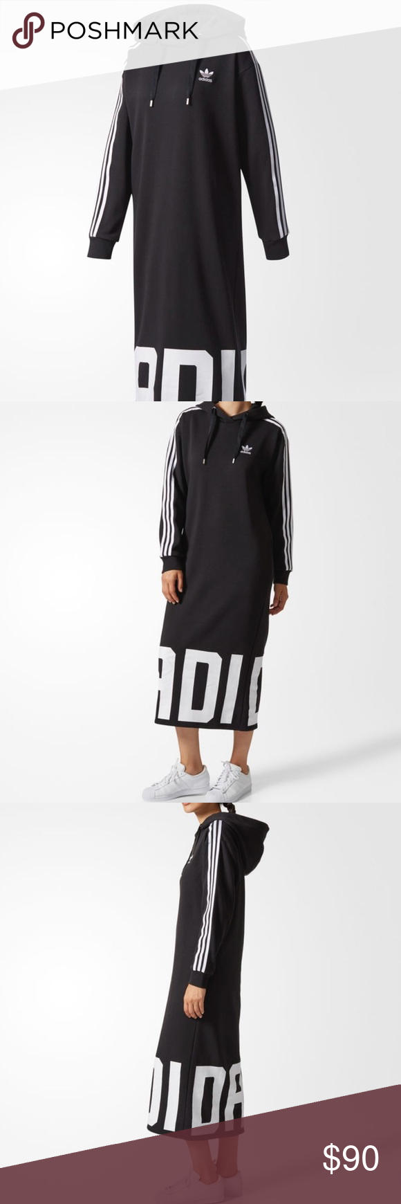 timeless design 002d3 9ab94 New ADIDAS ORIGINALS BOLD AGE HOODIE DRESS Brand new with tags. adidas  Dresses