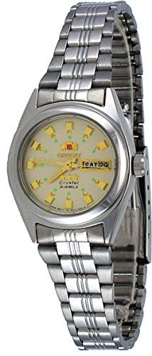 Orient BNQ1X003C Womens Tri Star Champagne Dial Automatic Watch >>> Check out the image by visiting the link.Note:It is affiliate link to Amazon. #liking