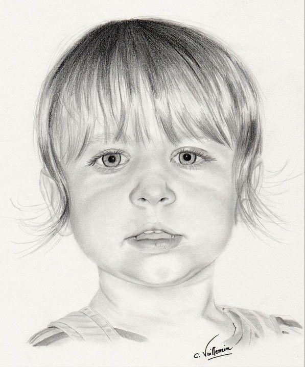 French Pencil Artist Corinne's Portraits aka Corinne Vuillemin - Portraits (2010)