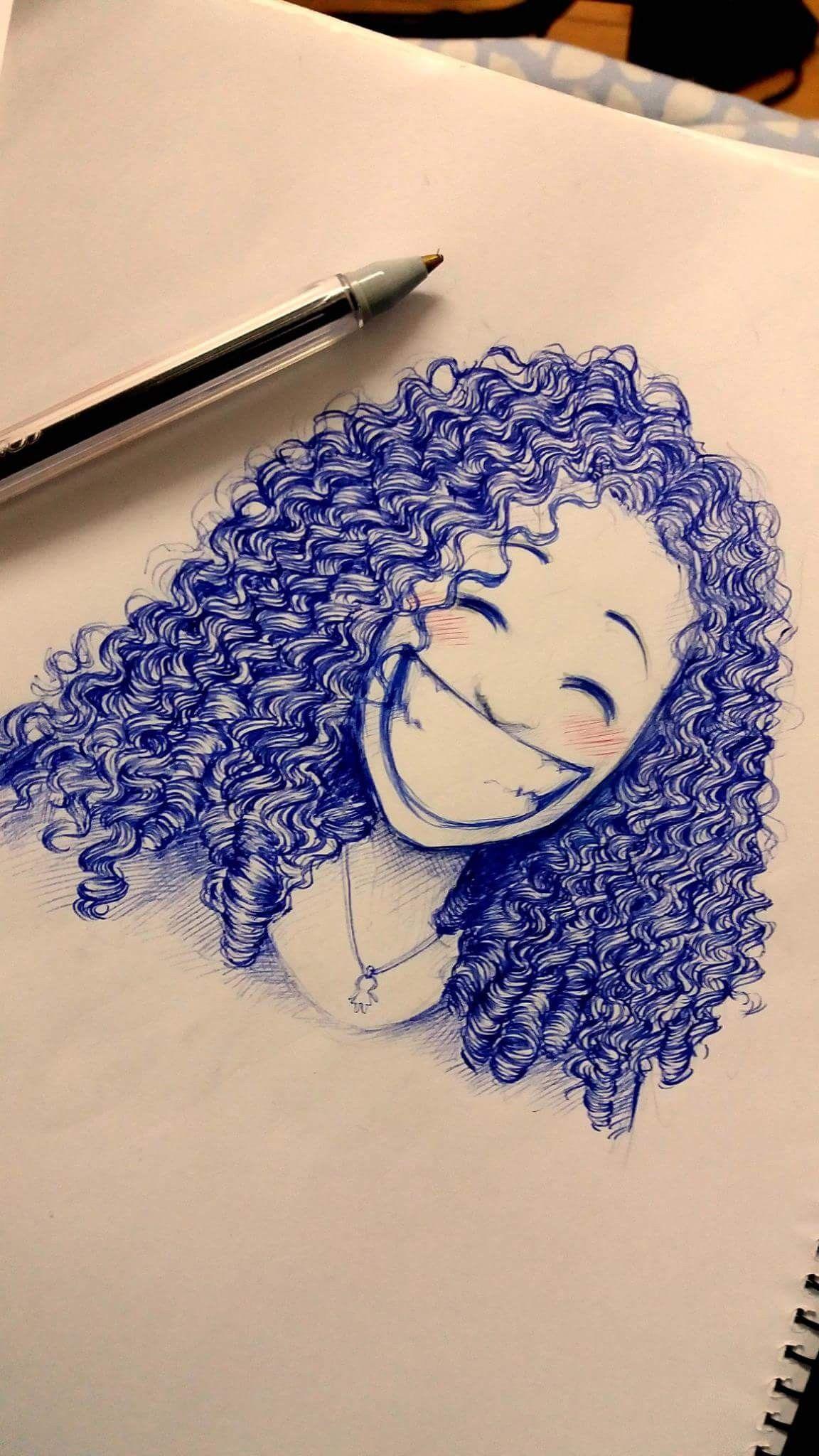 Dibujo Sorrisos Desenho Desenhos De Cabelos Cacheados Cabelo