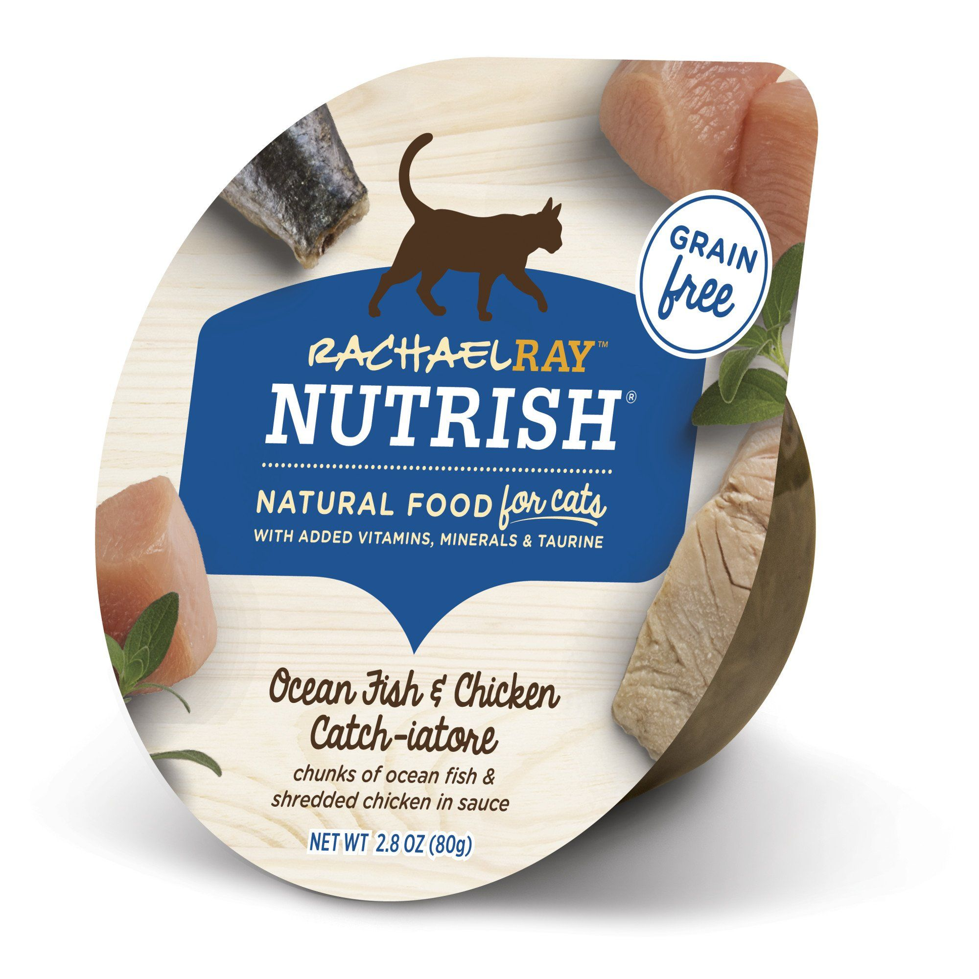 Rachael Ray Nutrish Natural Grain Free Ocean Fish Chicken Catch