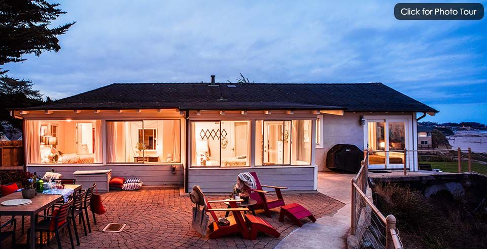 Santa Cruz Vacation Al Beach Houses Oceanfront