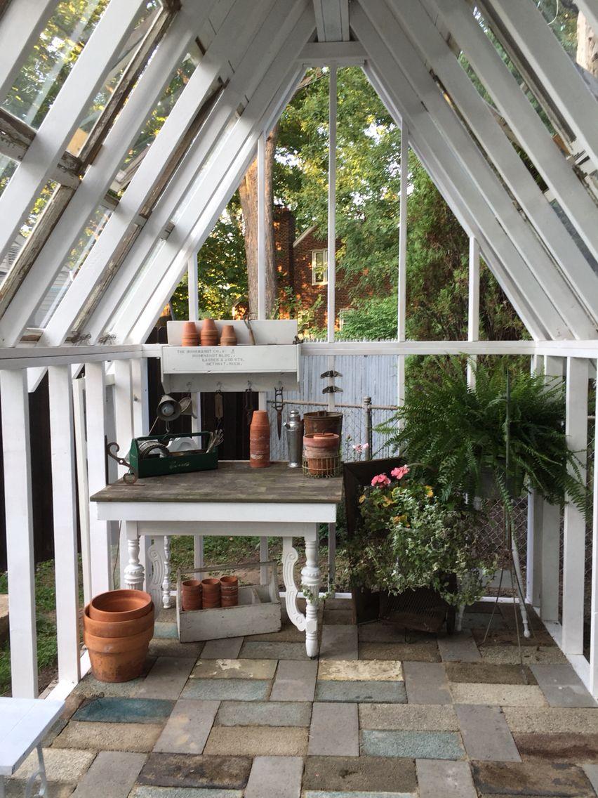 Getting closer 2 Diy landscaping, Potting sheds, Greenhouse