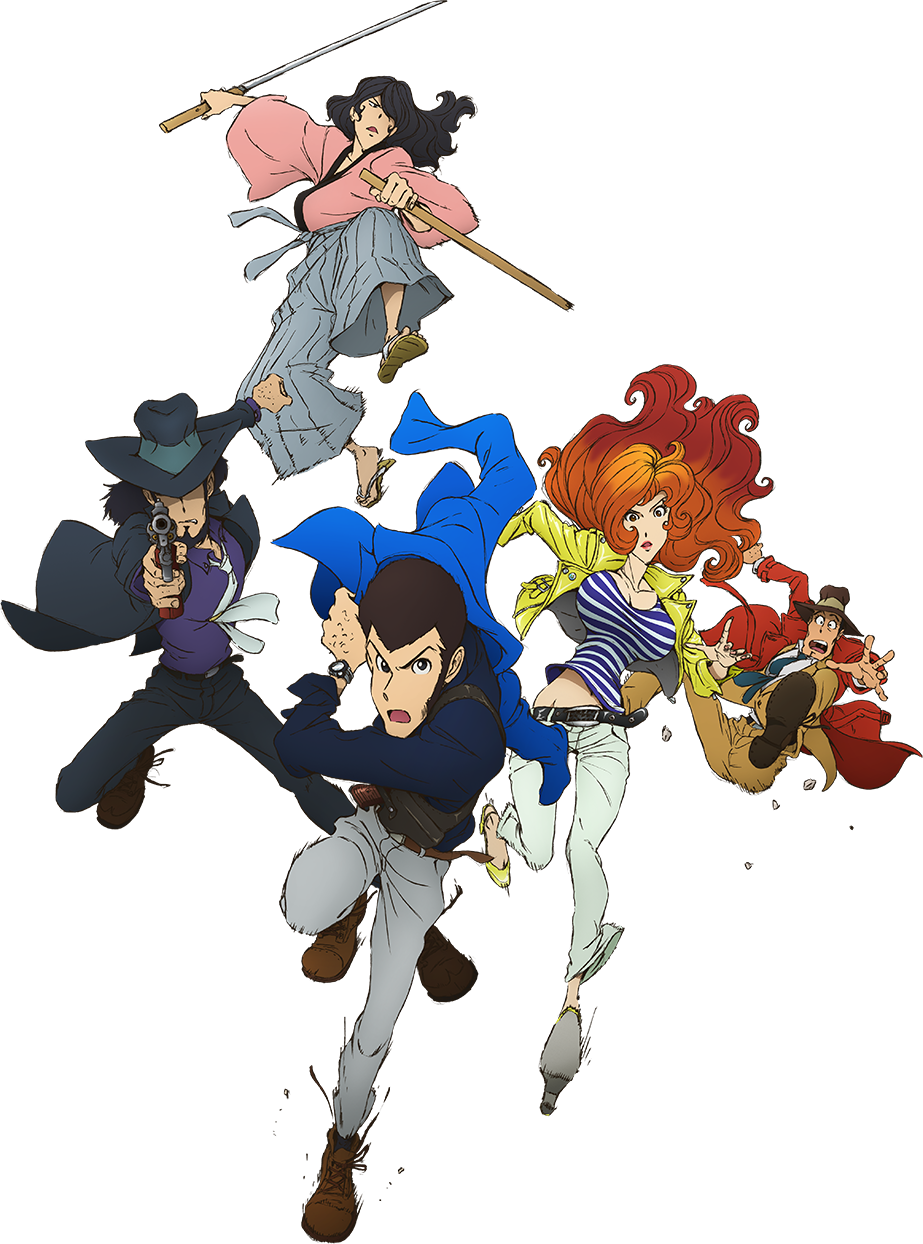 Lupin III (2015 anime) Anime/Manga Pinterest Anime