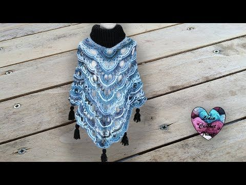So Beautifulconcours Poncho Lady Crochet Toutes Tailles