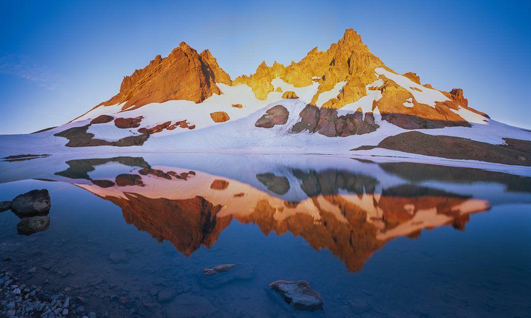 Alpine Bliss Broken Top Mountain No Name Lake Oregon Landscape Photo Fine Art Landscape Photography Fine Art Landscape Oregon Landscape