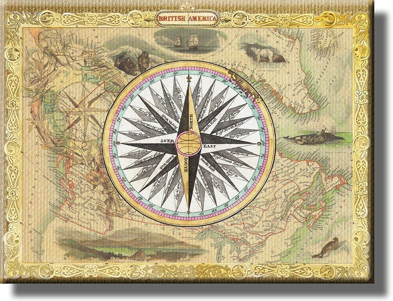 Luxury Compass Wall Art Elaboration - Art & Wall Decor - hecatalog.info