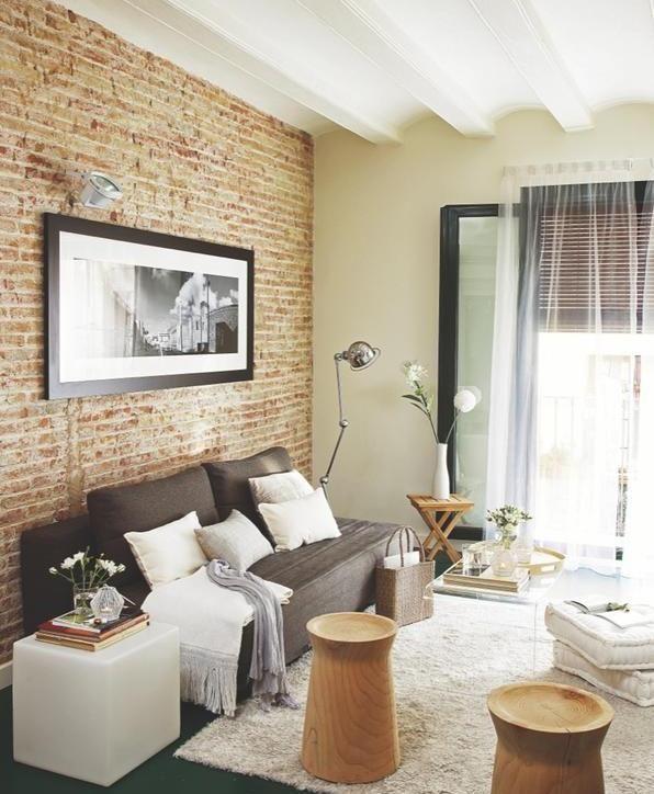 Apartamento de 55 m con est tica tipo loft newyorkino - Apartamentos tipo loft ...