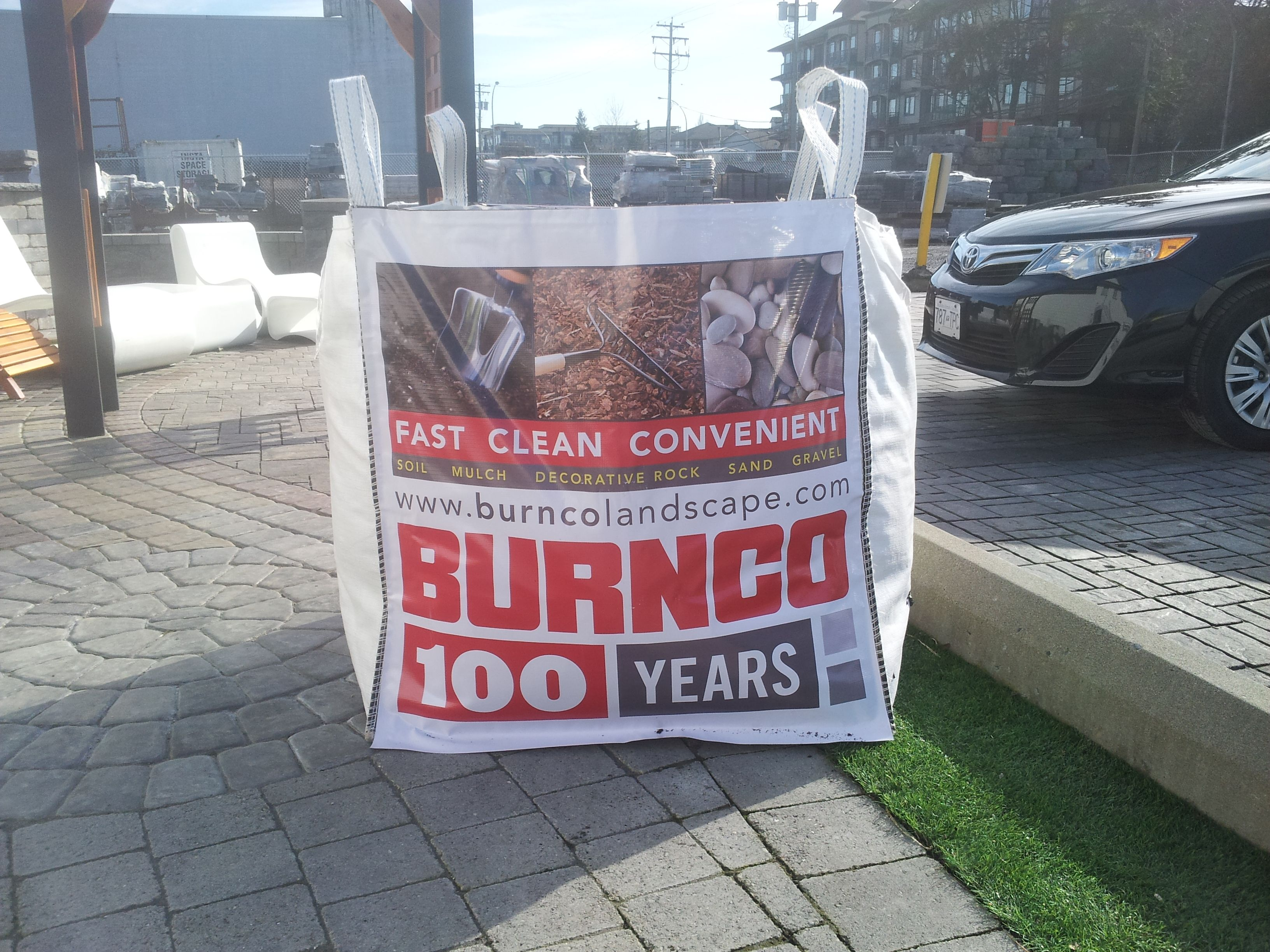 Bigbag | BURNCO BigBag | Top soil, Landscaping supplies, Paving stones