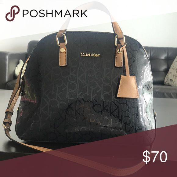 c2fca788a8e47 Neuer schwarzer Geldbeutel von Calvin Klein. Dieser Geldbeutel wurde nie  benutzt. Calvin Klein Taschen