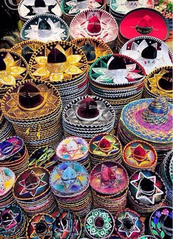 Colorful Sombreros | Mexico | AlexandAlexa