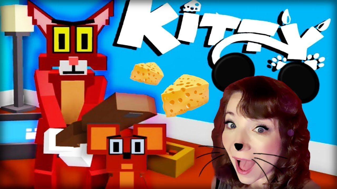 Roblox Kitty Cat And Mouse Granny Style Game Kitty Tom And Jerry Cartoon Old Tom And Jerry