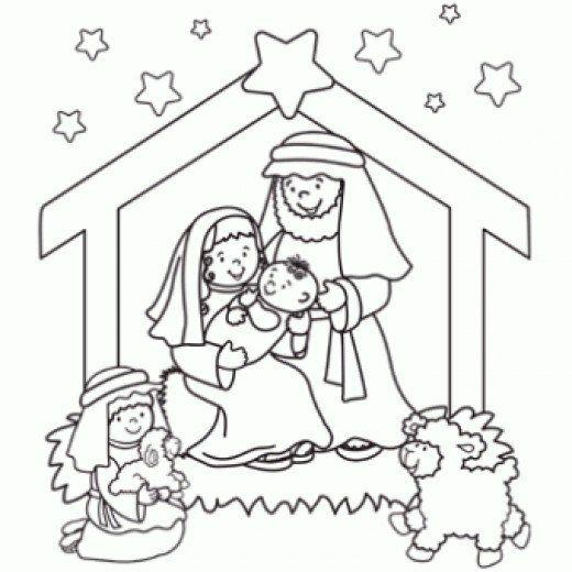Online Christmas Nativity Printables | Navidad