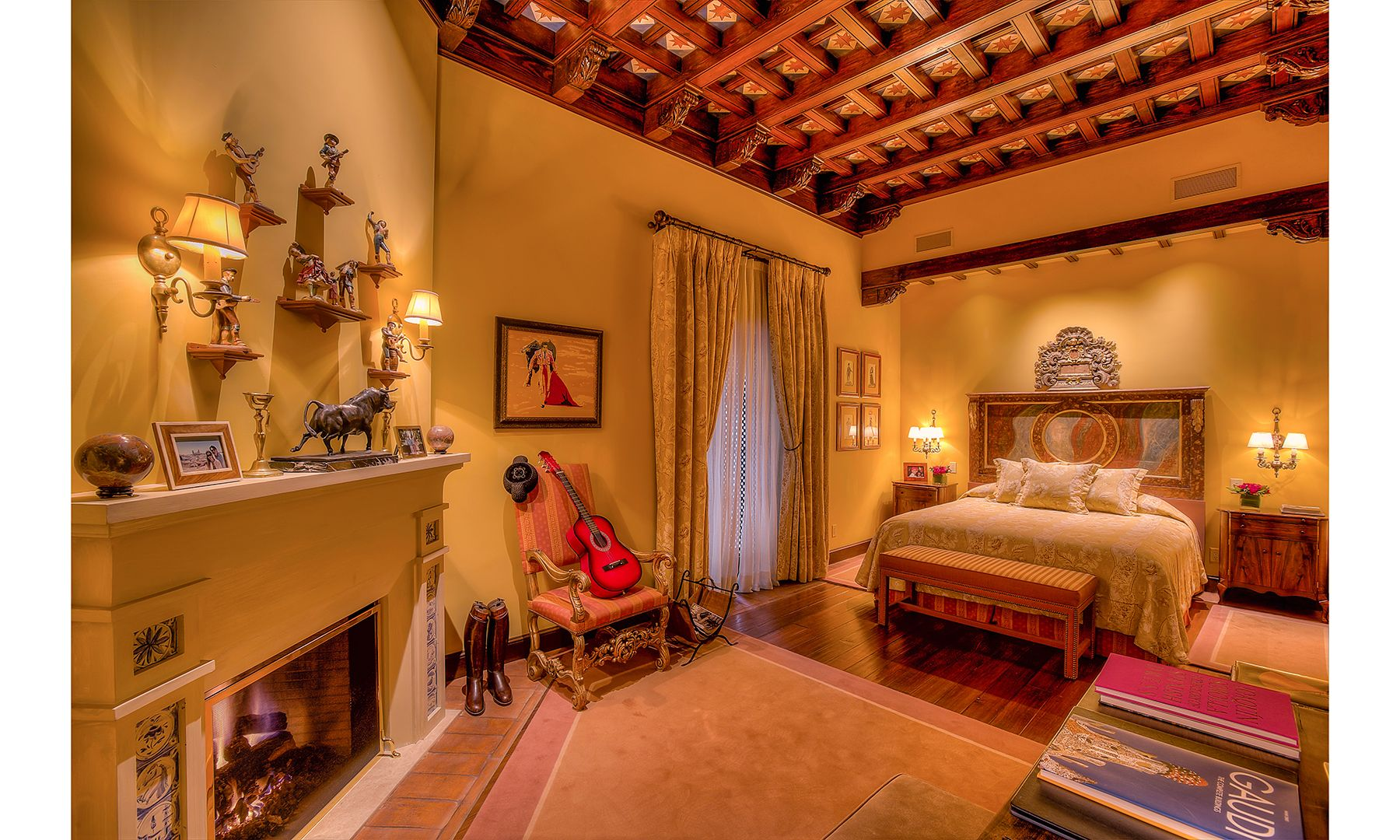 Pictures Hacienda De La Paz 53 Million Mansion Dujour Interior Design Styles Spanish Interior Design Spanish Interior