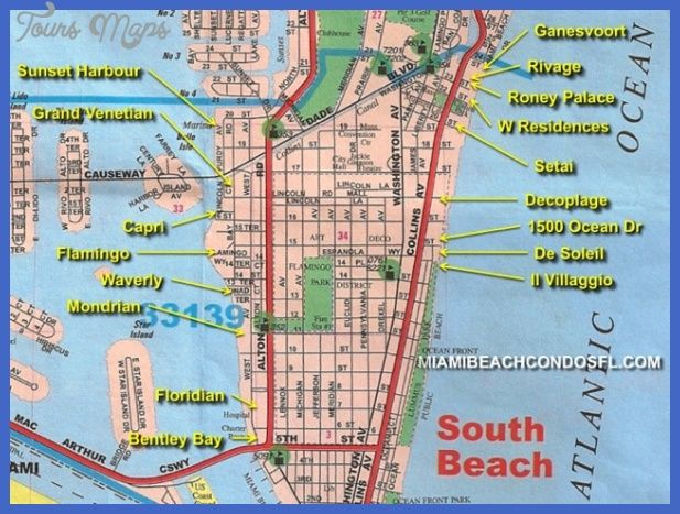 Miami Florida Map.Awesome Miami Map Tourist Attractions Tours Maps Pinterest