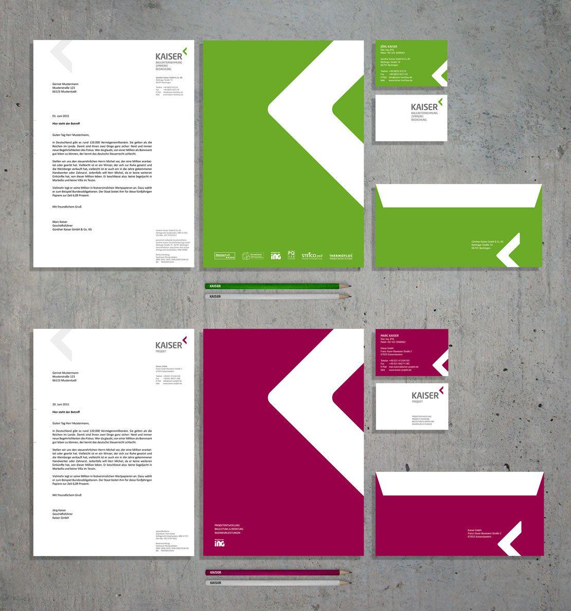 Eindruck Entwickelte Das Neue Corporate Design Logo