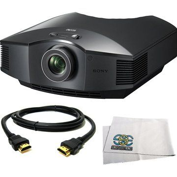 Sony VPL-HW40ES Full HD SXRD Home Theater ES Projector + HDMI Cable ...