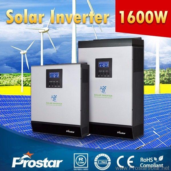 Prostar Powersolar 24v 1600 Watt Solar Panel Inverter For Home Solar System Prostar Solar Energy Solar Panel Inverter Solar Solar Inverter
