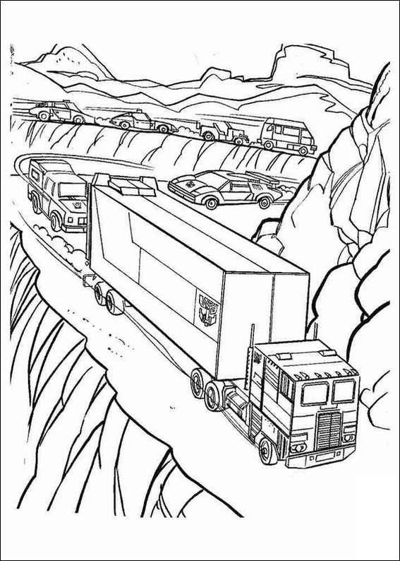Transformers Coloring Pages Transformers Transformers Names