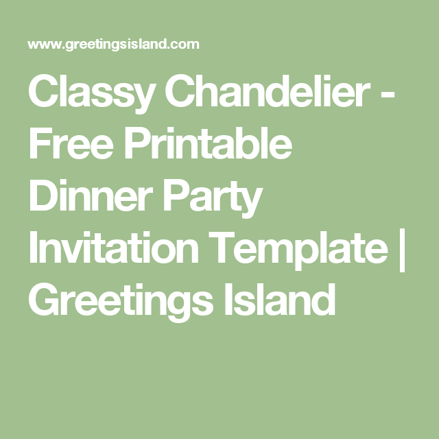 Free Printable Dinner Party Invitations Viral Patel Patelviral31883 On Pinterest