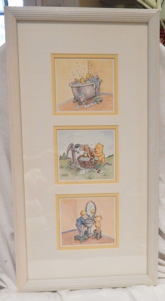 Disney Classic Winnie The Pooh Tigger Christopher Piglet Bathroom