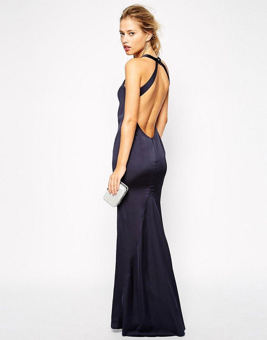 backless-maxi-dress-black   Backlees maxi dress   Pinterest ...
