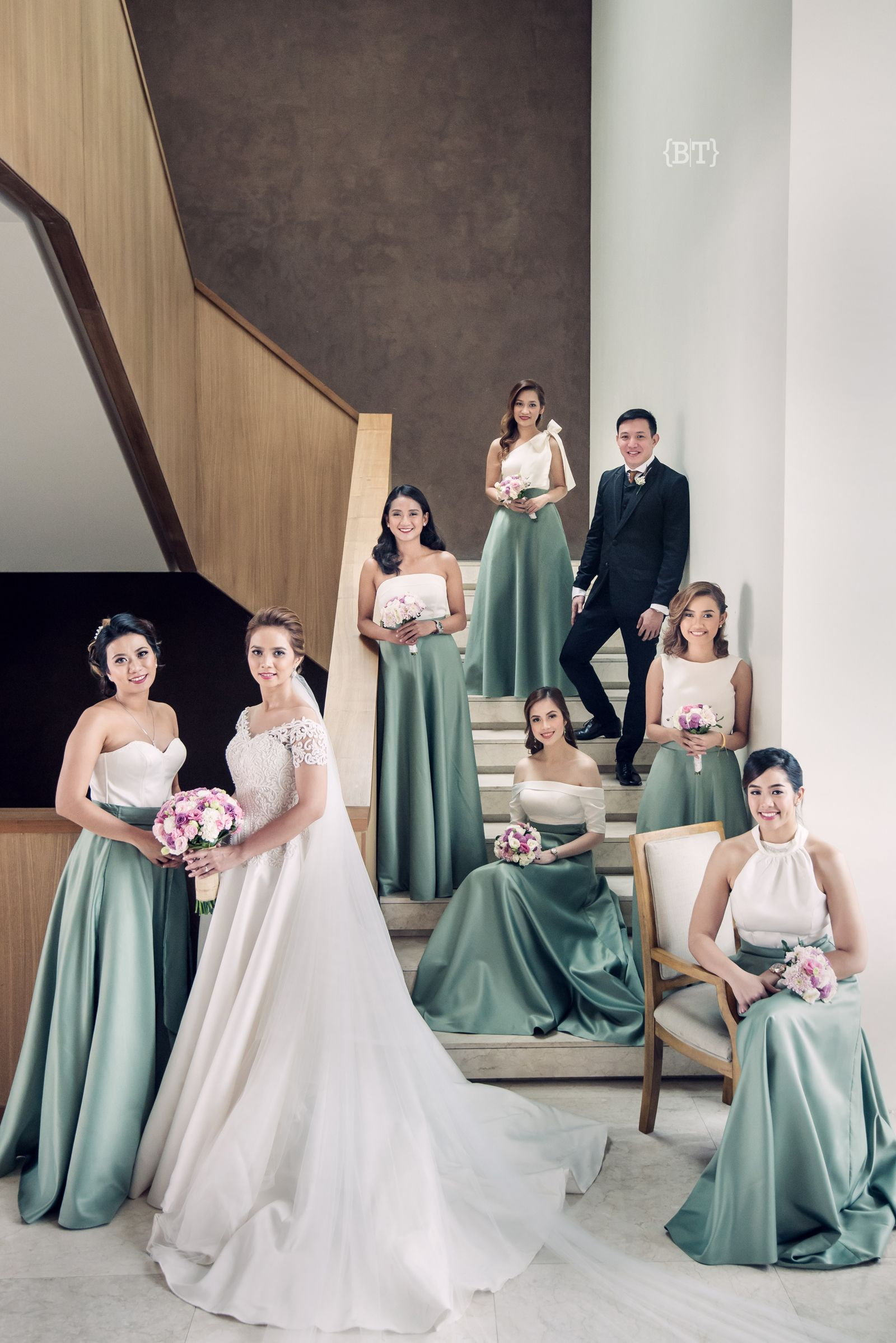 Benjie Tiongco Photography Vintage Off Shoulder Short Sleeve A Line Wedding Gown Dress Filipiniana Wedding Dress Wedding Entourage Gowns Rustic Wedding Gowns [ 2397 x 1600 Pixel ]